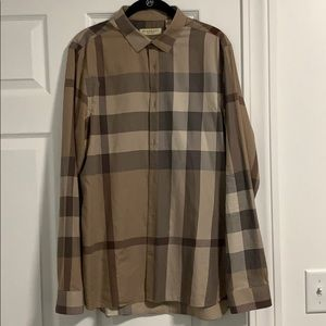 Burberry casual button up